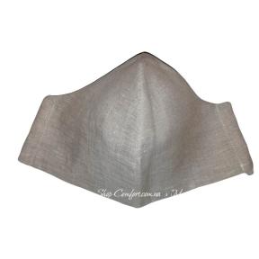 Детская маска LinTex тканевая многоразовая лен