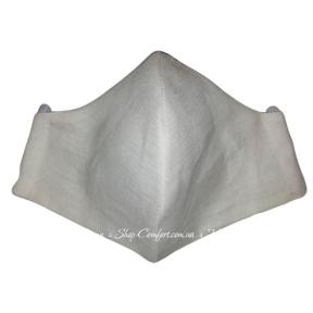 Маска LinTex тканевая многоразовая белая