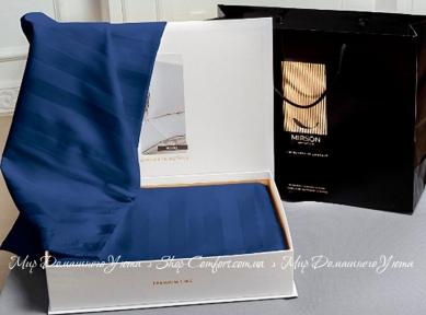 Постельное белье Mirson - Blue sea двуспальный (2200000019172)