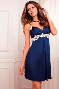 Женская ночная сорочка Coemi 151C601 ultramarine 90