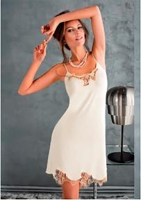 Женская ночная сорочка Coemi 151C610 cream 2