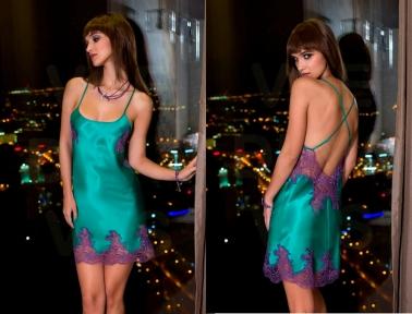 Женская ночная сорочка Coemi 171239 ceramic/figue 202/33