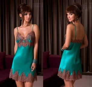 Женская ночная сорочка Coemi 171778 ceramic/toffee 202/203