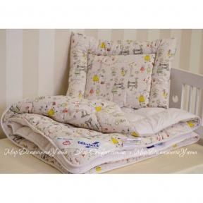 Одеяло детское антиаллергенное Billerbeck Бэби 110х140 стандартное