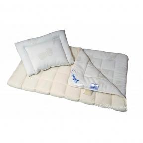 Детское одеяло из овечьей шерсти Billerbeck Бамбино 110х140 облегчённое