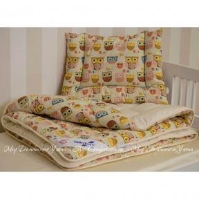 Детское одеяло из овечьей шерсти Billerbeck Малыш 110х140 стандартное