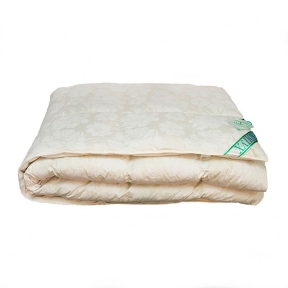 Одеяло пуховое Экопух 155х215 кассетное пух 100%
