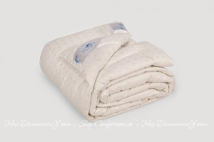Одеяло пуховое стеганое Iglen 100% пуха 110х140 (1101401с)