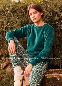 Женская пижама Gisela 3/1640 зеленый
