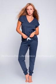 Пижама брюки с футболкой Sensis Abigail