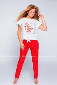 Пижама брюки с футболкой Sensis Maddy