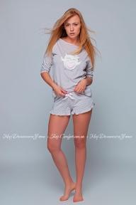 Пижама шорты с регланом Sensis Megan