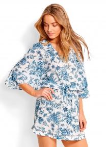 Летнее платье Seafolly 53310-KA белый