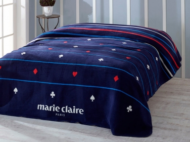 Плед Marie Claire Carte 200х220 хлопок