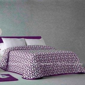 Покрывало с наволочками Zebra Onix 57 250х270 фиолетовый
