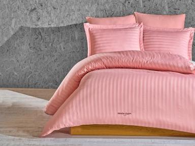 Постельное белье Marie Claire Vogue pink сатин полуторный
