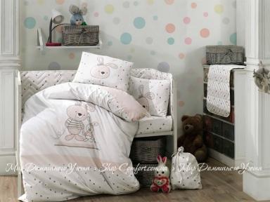 Постельное белье детское Hobby Elina Серый (8698499141384)