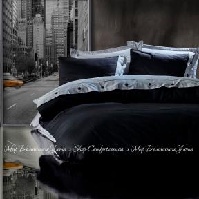 Постельное белье Cotton Box Fashion Gri Siyah сатин евро