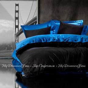 Постельное белье Cotton Box Fashion Mavi Siyah сатин евро