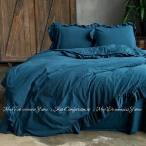 Постельное белье Limasso Dress blue exclusive евро