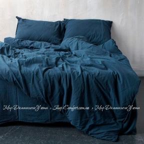 Постельное белье Limasso Dress blue standart полуторный
