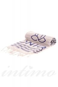 Полотенце пляжное Iconique IC20-OMT navy-blu