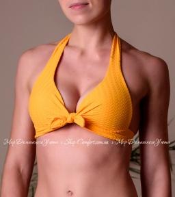 Верх купальника формованные треугольники Toccata Beatrice PDS желтый