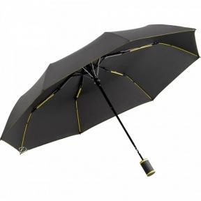 Зонт Fare мини полуавтомат 5583 антрацит/желтый