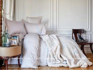 Постельное белье Karaca Home Passero синий 2018-1 сатин евро 7ce0befd891a5