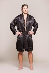 bda7dba56fef8 Шелковые мужские халаты, купить мужской шелковый халат в Киеве ...