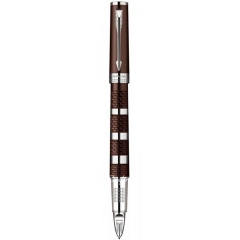Ручка роллер Parker Ingenuity Brown Rubber Metal CT RF (90 652K)
