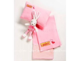 Плед детский Bocasa Kids Dream Set Rabbit
