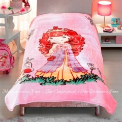 Плед TAC детский Strawberry Shortcake 160х220