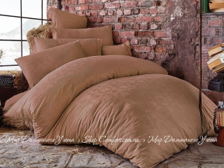 Постельное белье ISSIMO HOME Bertha beige евро