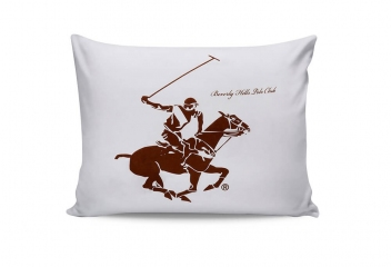 Наволочки Beverly Hills Polo Club BHPC 004 brown 50х70