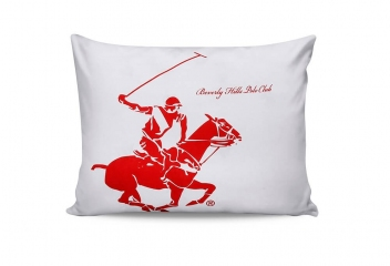 Наволочки Beverly Hills Polo Club BHPC 004 red 50х70