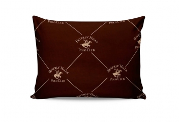 Наволочки Beverly Hills Polo Club BHPC 006 brown 50х70