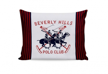 Наволочки Beverly Hills Polo Club BHPC 009 red 50х70