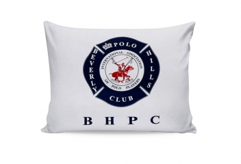 Наволочки Beverly Hills Polo Club BHPC 010 dark blue 50х70