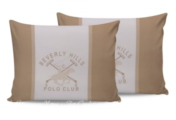 Наволочки Beverly Hills Polo Club BHPC 024 cream 50х70