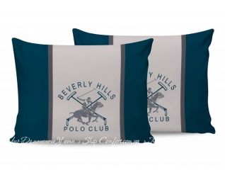 Наволочки Beverly Hills Polo Club BHPC 024 green 50х70