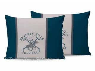 Наволочки Beverly Hills Polo Club BHPC 025 green 50х70