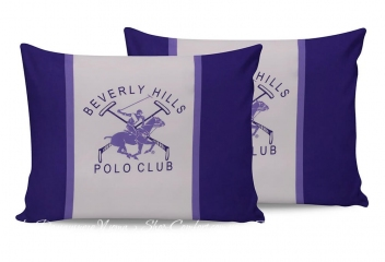 Наволочки Beverly Hills Polo Club BHPC 029 lilac 50х70