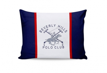 Наволочки Beverly Hills Polo Club BHPC 001 dark blue 50х70