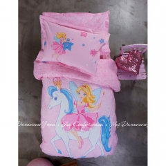 Плед - покрывало Karaca Home Periwinkle pink 160х220