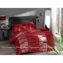 Постельное белье Pierre Cardin Velvet красный сатин евро 6ed4f4f66f115