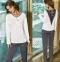 Женская пижама Coemi 161C742 crem/antracite 002/186