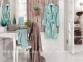 Набор халатов U.S.Polo Assn Henderson коричнево-ментоловый