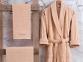 Набор халат с полотенцами Marie Claire Gladic beige